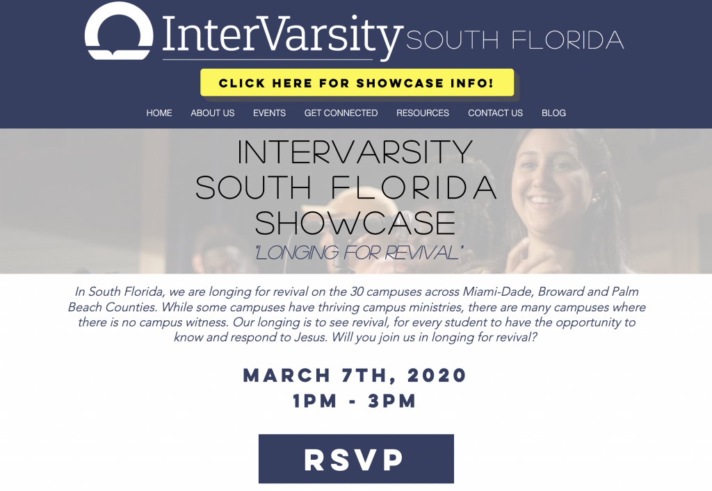 InterVarsity South Florida Showcase