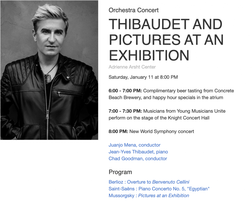 NWS: Thibaudet and Pictures